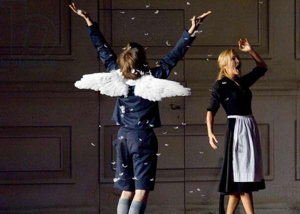 Cherubim and Susanna in The Marriage of Figaro, Salzburg
