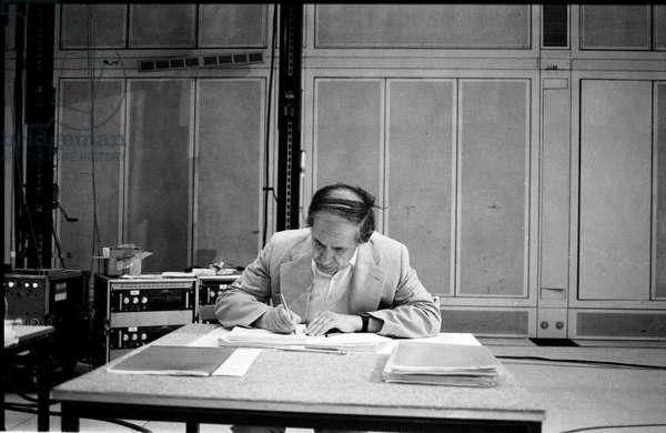 Pierre Boulez at IRCAM