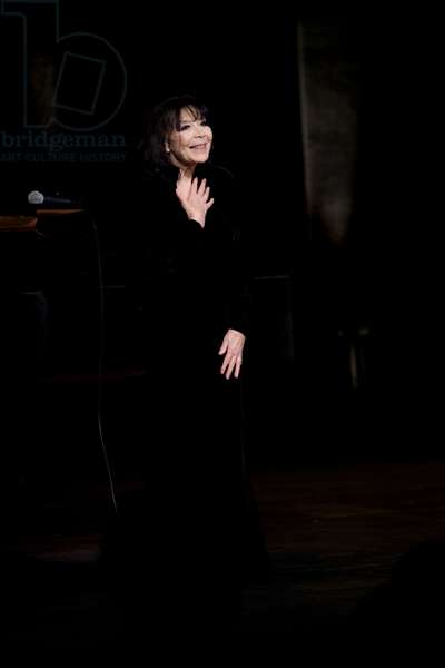 Juliette Gréco in concert