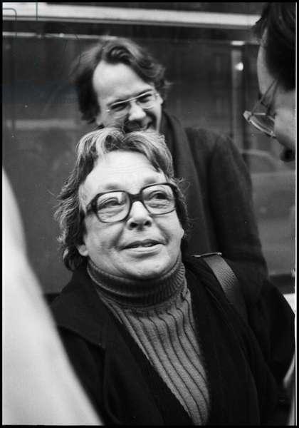 Marguerite Duras and Yann Andrea, 1981