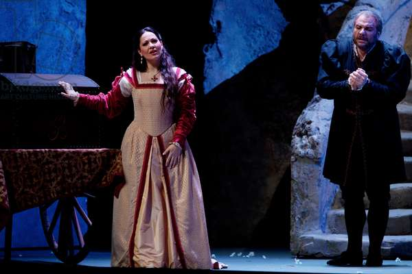 Giuseppe Verdi 's opera Rigoletto. January 2012.