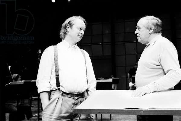 Philippe Manoury and Pierre Boulez
