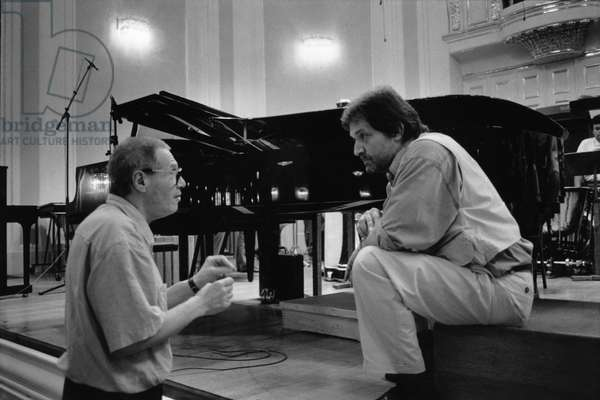 Gyorgy Kurtag and Peter Eotvos