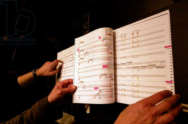 Bruno Mantovani - reading musical score