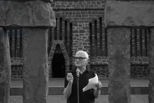 John Giorno, February 2014