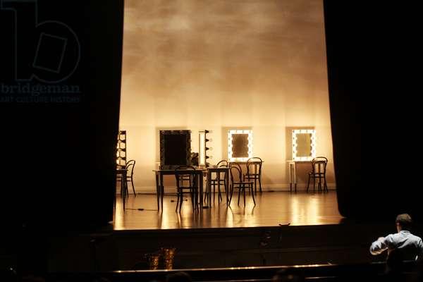 Set from Ariadne auf Naxos by Strauss