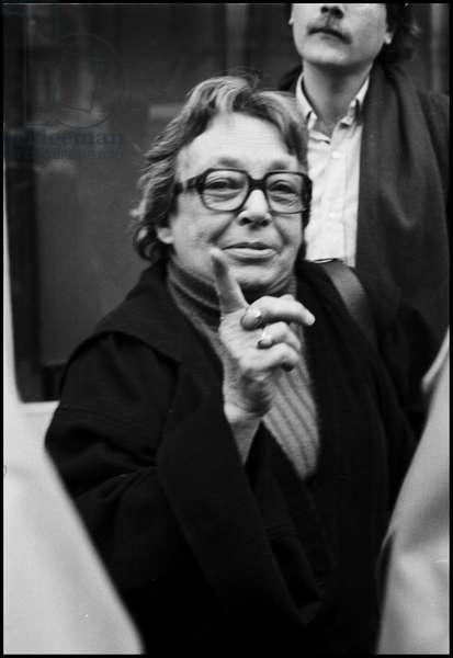 Marguerite Duras, 1981