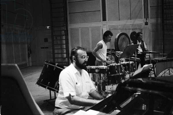 Ensemble Intercontemporain, Paris, IRCAM 1985