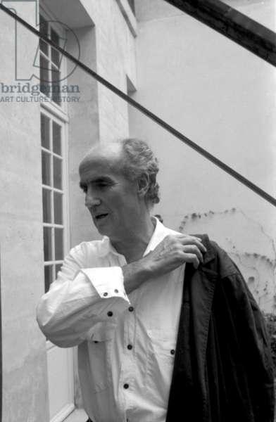 Luigi Nono -  in Paris,  1987