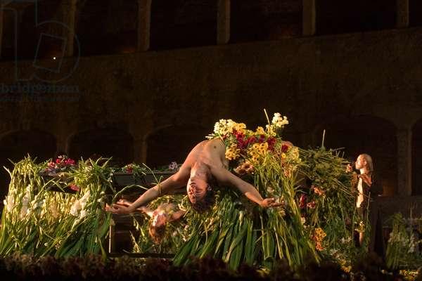 Scene from Requiem für eine Metamorphose  by Jan Fabre