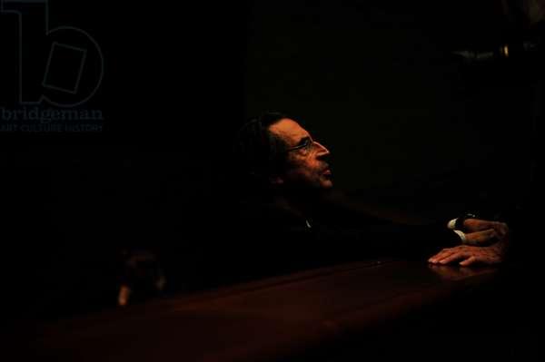 Riccardo Muti  at rehearsal of Macbeth