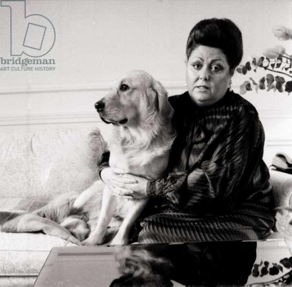 Margaret Price in Paris 1988