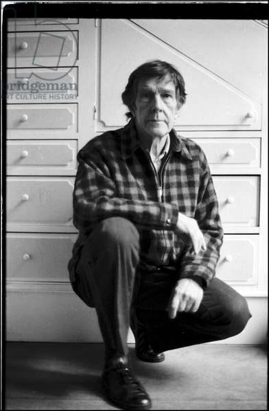John Cage in the house of Dorothea Tanning