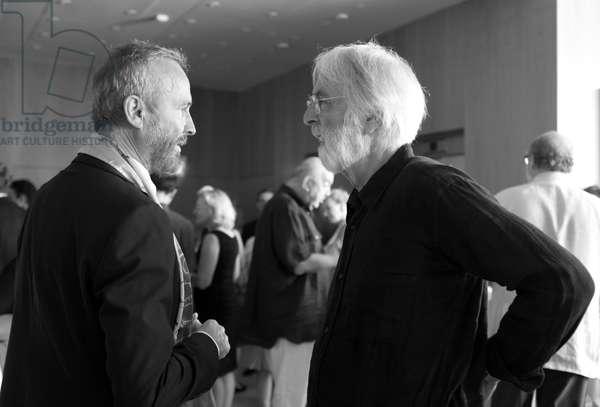 Erwin Wurm and Michael Haneke