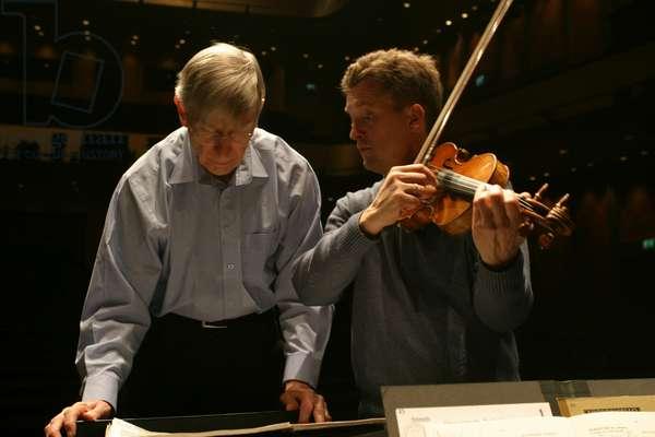Herbert Blomstedt  and Christian Tetzlaff