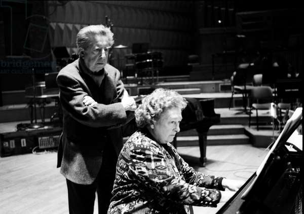 Henri Dutilleux & Genevieve Joy