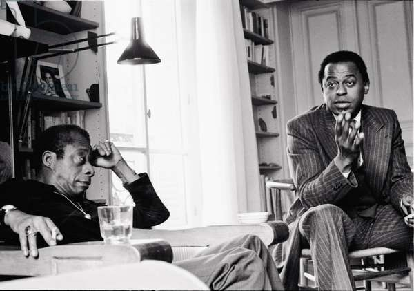 Archie Shepp and James Baldwin