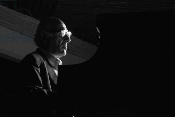 Michael Nyman in concert at the Salon Los Angeles, 2014