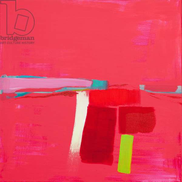 Pink Landscape, 2014, (acrylic on canvas)