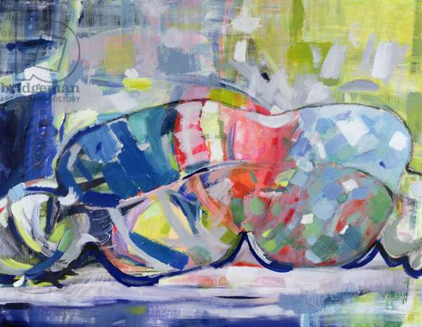 Reclining Nude, 2008, (oil on canvas)