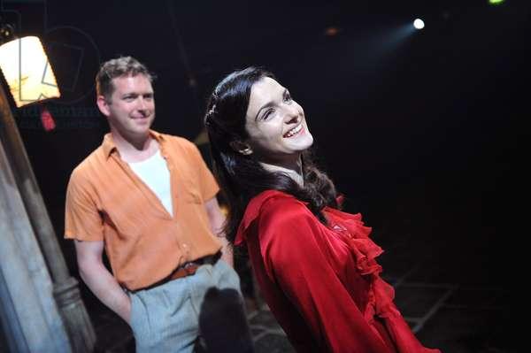 Barnaby Kay as Mitch and Rachel Weisz (photo)