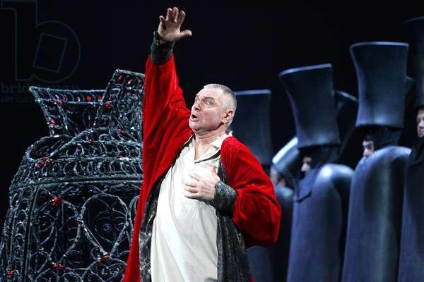 Boris Godunov - scene from the opera by Modest Mussorgsky (photo)