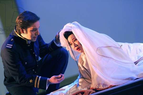 Giacomo Puccini 's opera 'Madama Butterfly'  (photo)