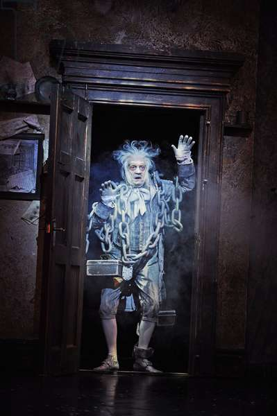 A scene from Scrooge The Musical at London Palladium (Opening 6-11-12) (photo)