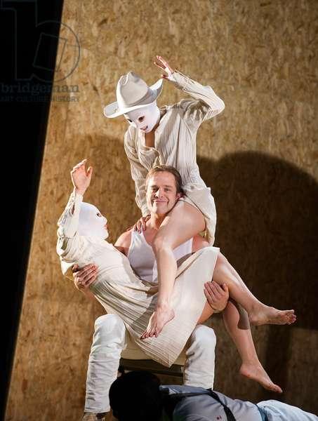 Lawrence Zazzo (Julius Caesar) in Julius Caesar by Handel. Performed by English National Opera at London Coliseum. Directed by Michael Keegan-Dolan. Conductor Christian Curnyn. (Taken 1-10-12) (photo)