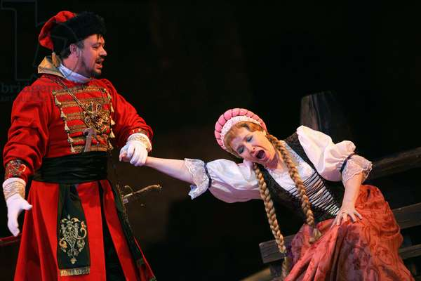 Khovanschina - scene from the opera by Modest Mussorgsky  (photo)