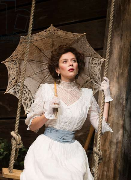 Anna Friel (Yelena) in Uncle Vanya by Anton Chekhov at Vaudeville. directed by Lindsay Posner. Designer Christopher Oram. Translated by Christopher Hampton. (Opening 2-11-12) (photo)