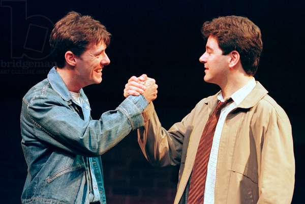 Andy Snowden and Mark Hutchinson in Blood Brothers (photo)