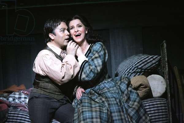 La Boheme - scene from the opera by Giacomo Puccini  (photo)