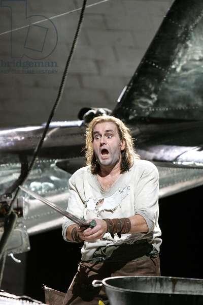 John Treleaven (Siegfried) in 'Siegfried' by Richard Wagner (photo)