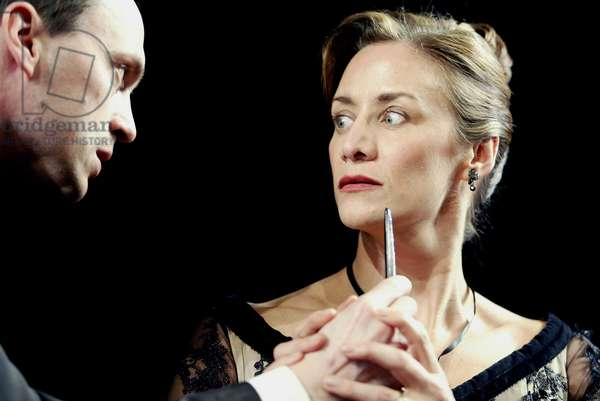 Will Keen as Ferdinand and Janet McTeer (photo)