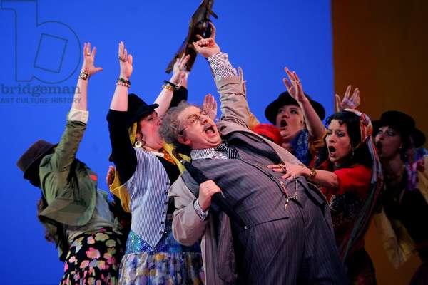 'Il Turco In Italia' - scene from the opera by Gioacchino Rossini (photo)