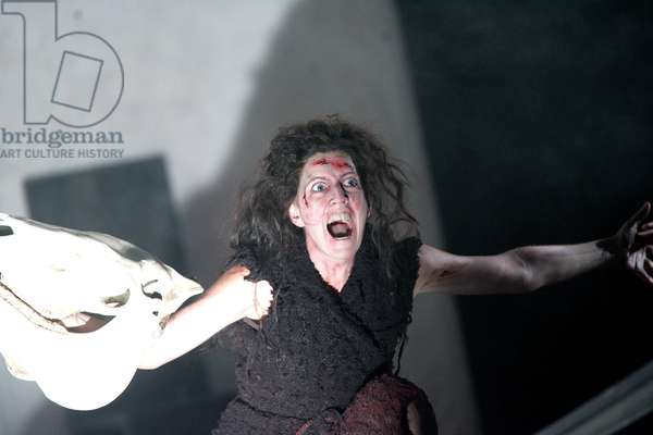 A scene form 'Die Walküre' (The Valkyrie) by Richard Wagner (photo)
