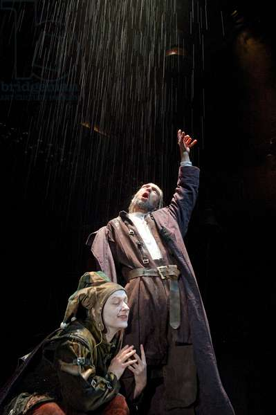 King Lear, by W. Shakespeare, at the Roundhouse (photo)