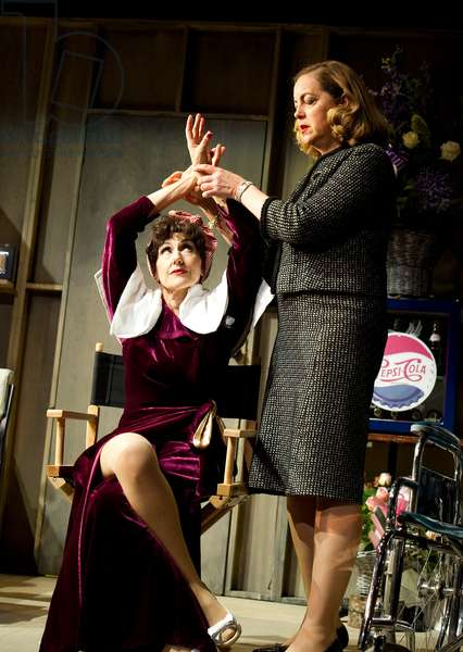 Bette and Joan by Anton Burge, Arts Theatre, London (photo)