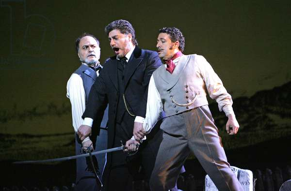 Giuseppe Verdi 's opera 'Stiffelio'  (photo)
