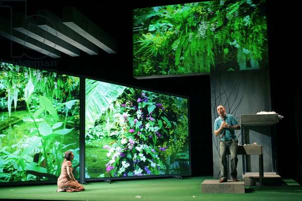 The Knot Garden - scene from the opera by Michael Tippett (photo)