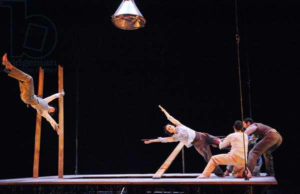 Du Gourdron et des Plumes, at The Barbican (photo)
