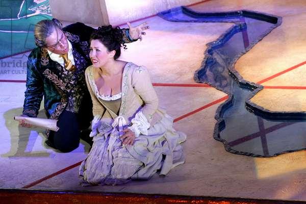 Wolfgang Amadeus Mozart 's opera Il Re Pastore (photo)