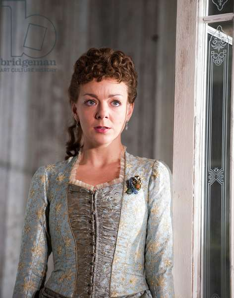 Sheridan Smith (Hedda Gabler) in Hedda Gabler by Henrik Ibsen at Old Vic. Directed by Anna Mackmin. (Opening 12-09-12) (photo)