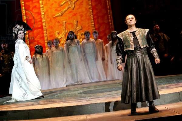 Turandot - scene from the opera by Giacomo Puccini (photo)