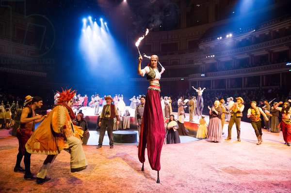 Carmen - opera by Georges Bizet at Royal Albert Hall (photo)