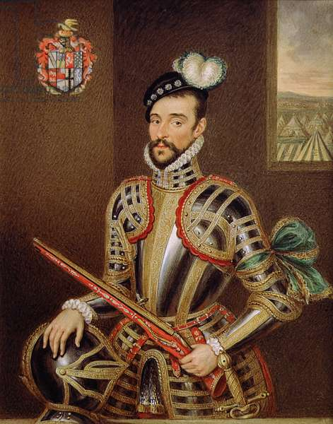 Portrait of William Stanley (1561-1642) 6th Earl of Derby (oil on canvas)