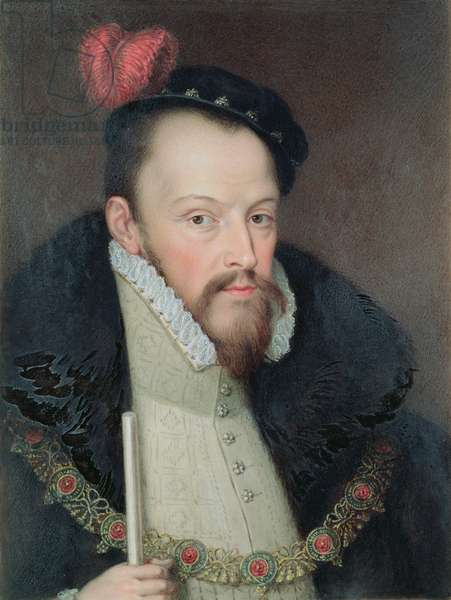 Portrait of Thomas (d.1521) 2nd Earl of Derby (w/c on paper)