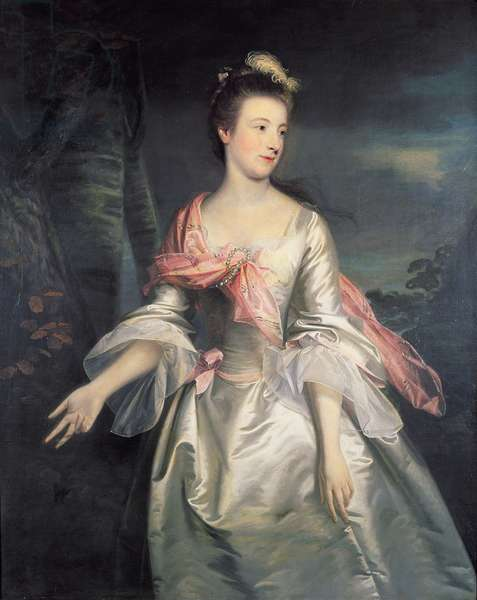 Portrait of Lucy Smith (oil on canvas)