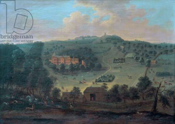 View of Winterslow House (oil)